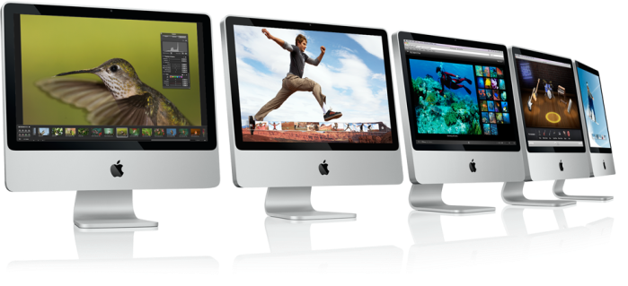Pictuers of the new iMac. As you can see they look exactly the same as the old ones.